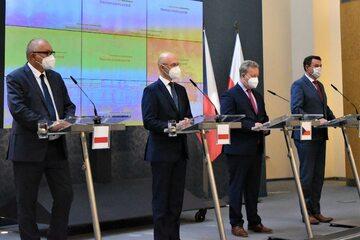 Delegacje polska i czeska