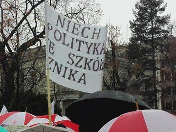 Demonstracja #chaoswedukacji