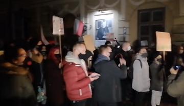 Demonstracja w Krakowie