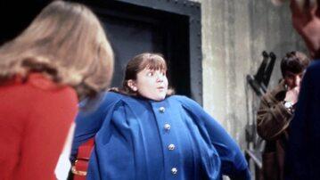 """Denise Nickerson jako Violet w filmie """"Willy Wonka i fabryka czekolady"""""""
