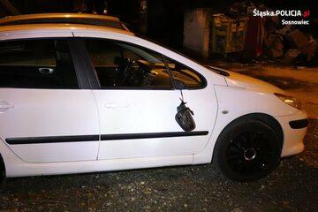 Dewastował auta w Sosnowcu