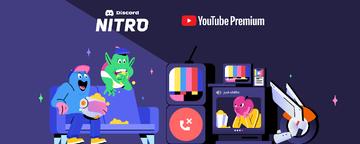 Discord Nitro i YouTube Premium