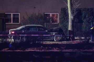 Do wypadku z udziałem rządowego Audi doszło 10 lutego ub.r.
