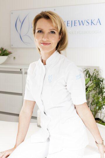 Doktor Iwona Radziejewska-Choma, właścicielka Saska Clinic w Warszawie