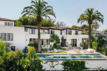 Dom Louisa Tomlinsona z One Direction w Hollywood Hills