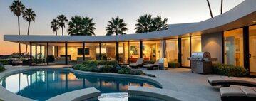 Dom znajduje się w Brentwood w Kalifornii