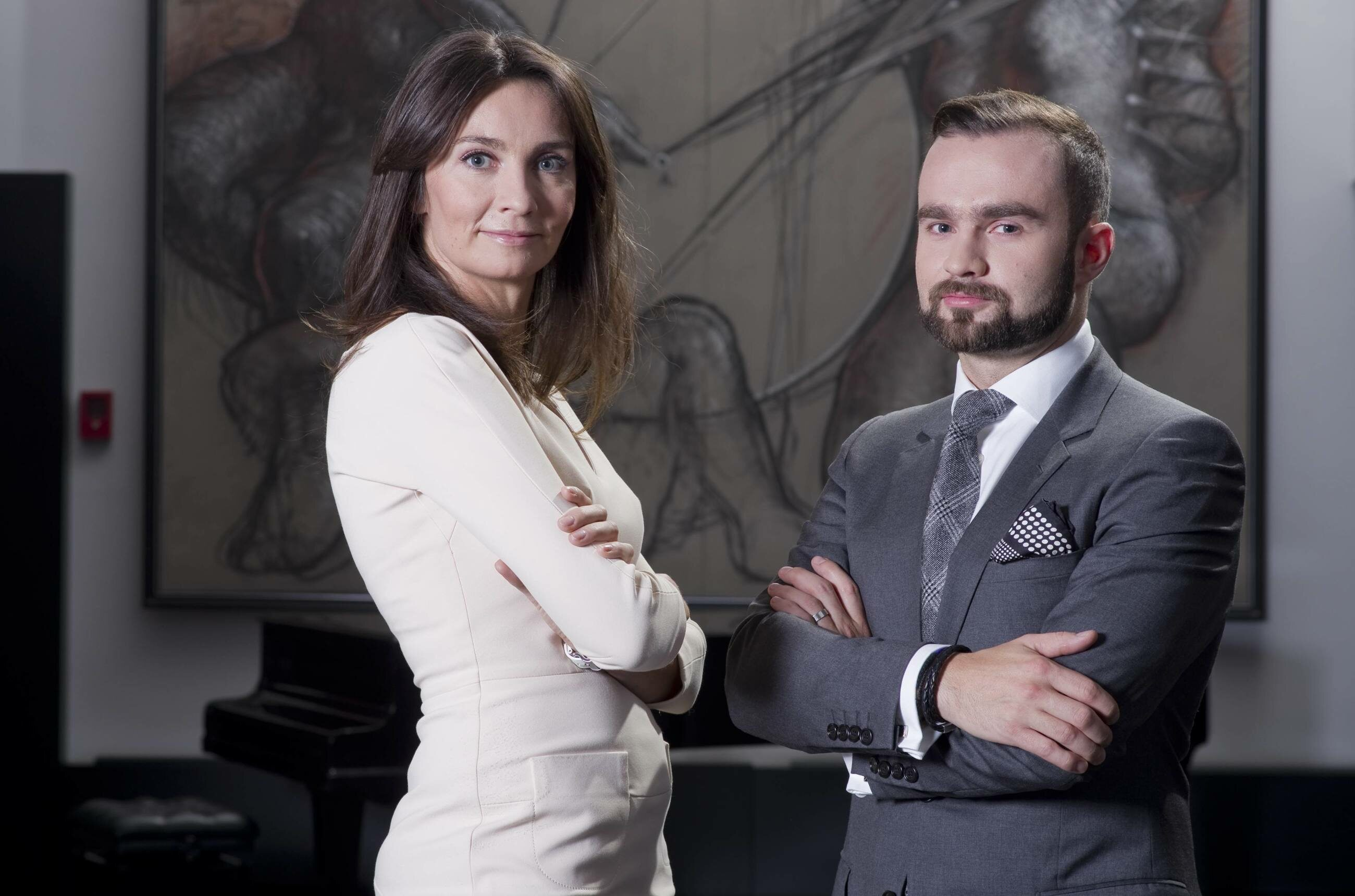Dominika i Sebastian Kulczyk