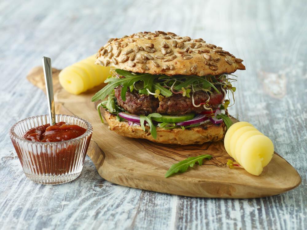 Domowy burger według Roberta Sowy