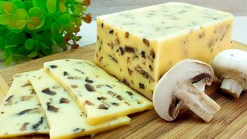 Domowy ser z grzybów