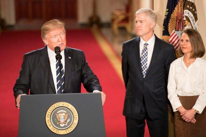 Donald J. Trump, Neil Gorsuch