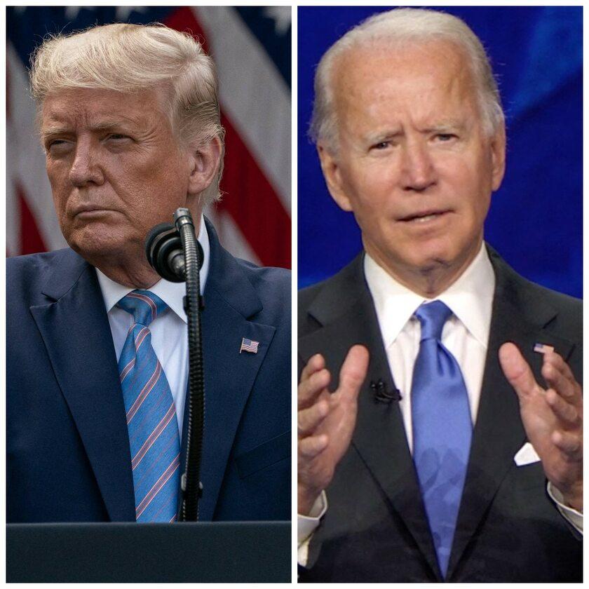 Donald Trump i Joe Biden