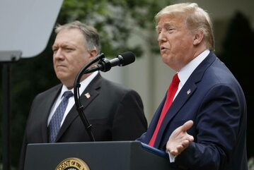 Donald Trump, Mike Pompeo