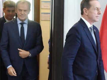 Donald Tusk i Tomasz Grodzki