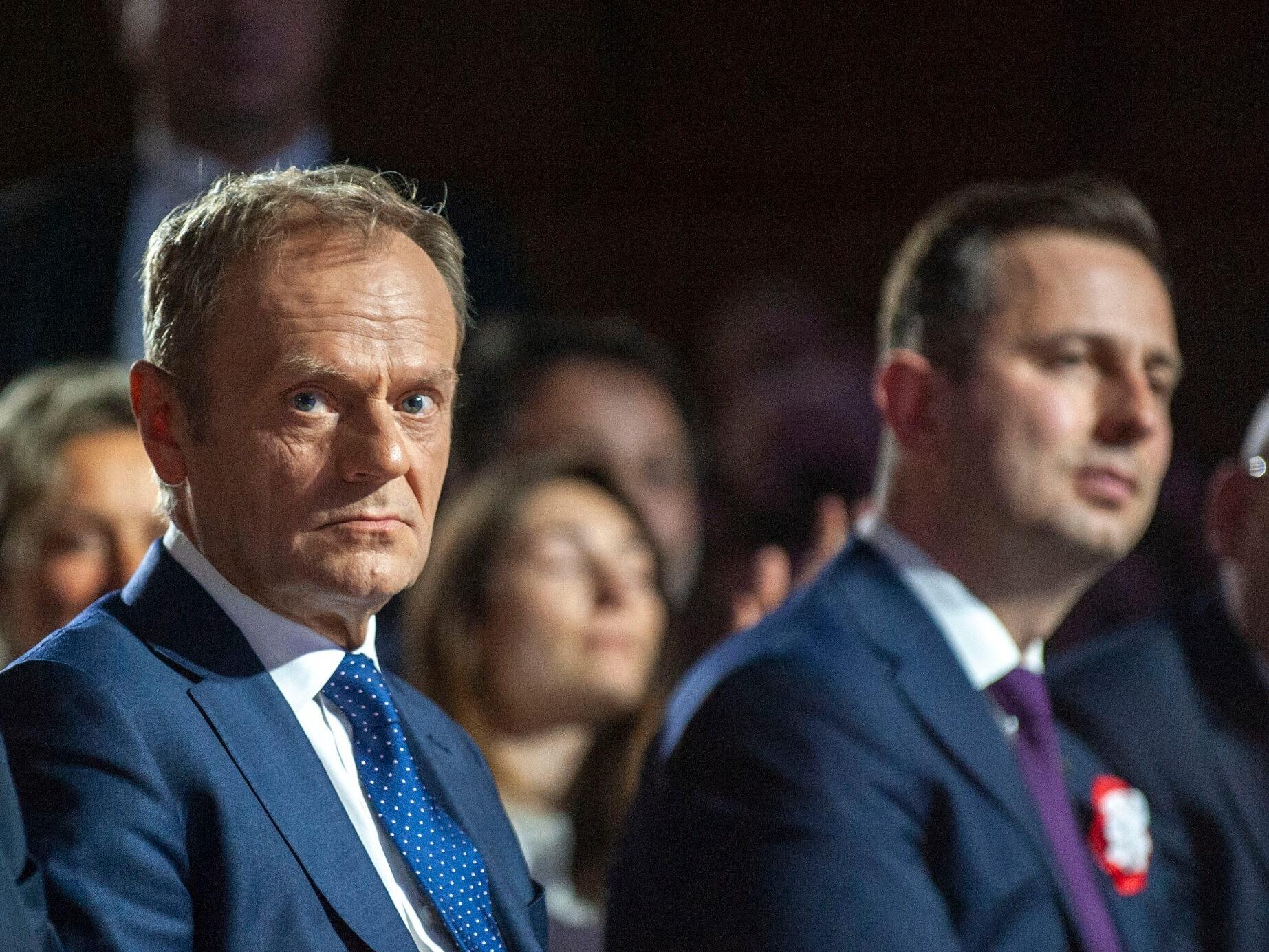 Donald Tusk i Władysław Kosiniak-Kamysz