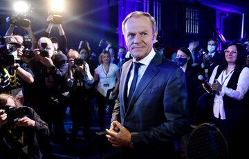 Donald Tusk na Radzie Krajowej PO