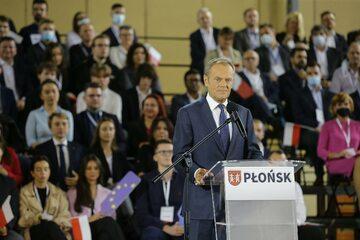 Donald Tusk w Płońsku