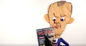 Donald Tusk zrobiony przez Tomasza Brodę