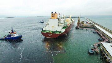 Dostawa do terminalu LNG w Świnoujściu