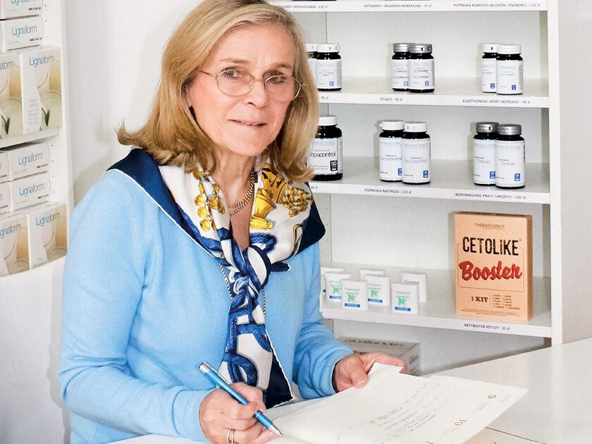 Dr Barbara Newall, dietetyk, prezes i dyrektor medyczny Thera Polska
