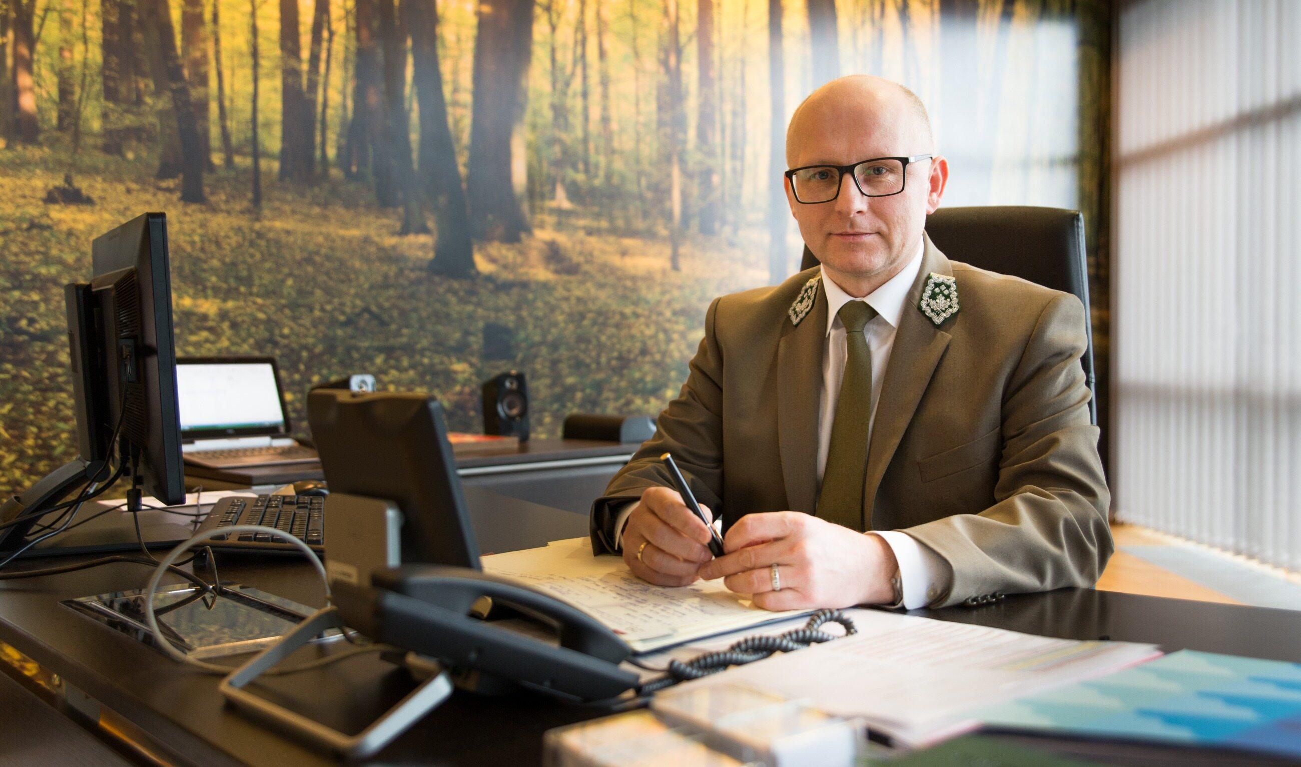 Dr inż. Andrzej Konieczny, dyrektor generalny Lasów Państwowych