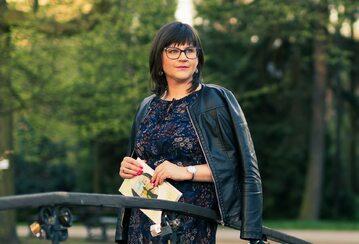 dr Monika Mularska-Kucharek - autorka książek z zakresu rozwoju osobistego oraz poezjoterapii