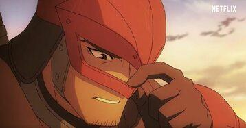 """Dragon Knight. Kadr ze zwiastuna """"DOTA: Dragon's Blood""""."""