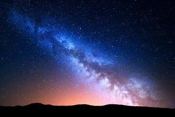 Droga Mleczna, zdj. ilustracyjne