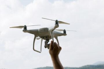 Dron, zdjęcie ilustracyjne