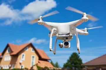 Drony w Polsce srają się coraz popularniejsze