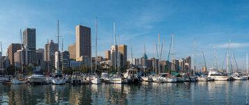 Durban - największe miasto prowincji KwaZulu-Natal