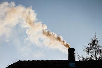 Dym z komina, smog