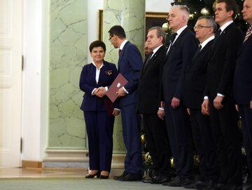 Dymisja premier Beaty Szydło