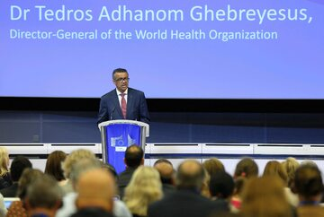 Dyrektor WHO Tedros Adhanom Ghebreyesus