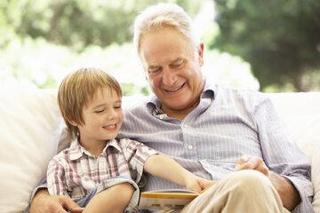 Dziadek, wnuk