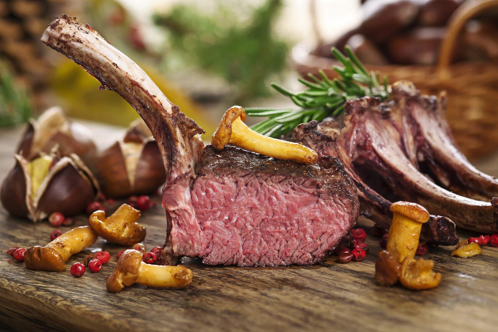 Dziczyzna, mięso