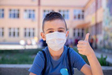 Dziecki podczas pandemii koronawirusa