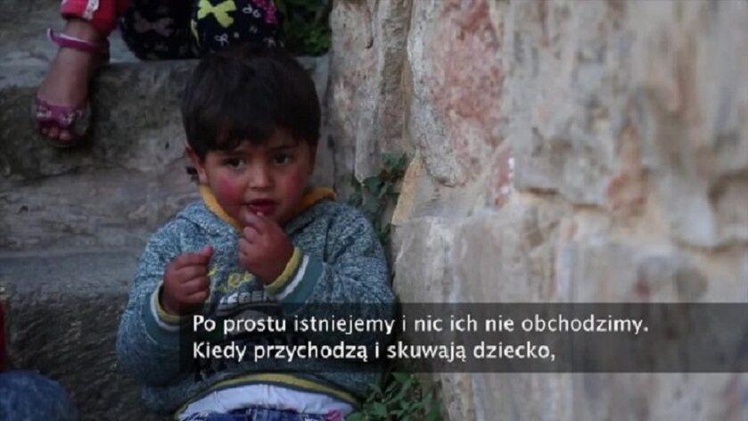 Dziecko aresztowane przez Izraelczyków