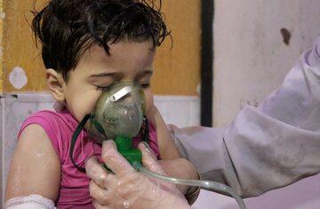Dziecko poszkodowane w Syrii