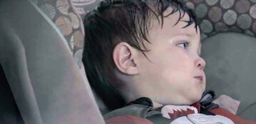 Dziecko pozostawione w aucie podczas upałów