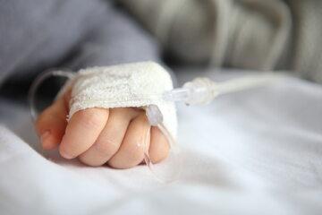 Dziecko w szpitalu, zdj. ilustracyjne
