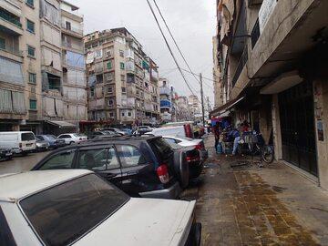 Dzielnica Bejrutu, w której mieszkają uchodźcy