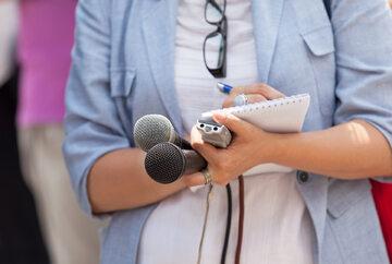 Dziennikarka, zdjęcie ilustracyjne
