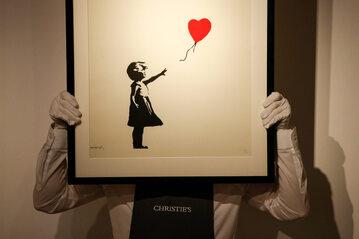 """""""Dziewczynka z balonikiem"""""""