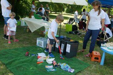 Edukacyjne warsztaty dla dzieci o segregacji i recyklingu odpadów