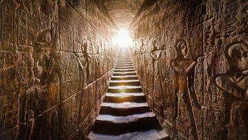 Egipska świątynia - zdjęcie ilustracyjne