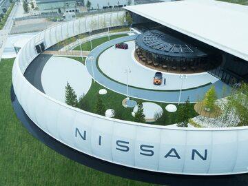 Ekologiczny pawilon Nissana w Yokohamie
