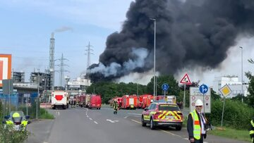 Eksplozja w zachodnich Niemczech