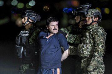 El Chapo w rękach służb