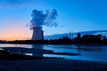 Elektrownia jądrow, zdj. ilustracyjne