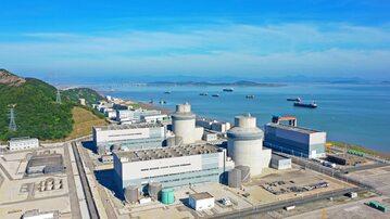 Elektrownia jądrowa Sanmen (stosuje reaktory AP1000 firmy Westinghouse)